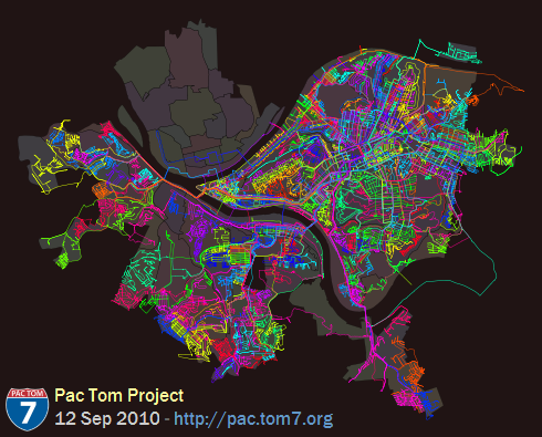 Full Pac Tom map of Pittsburgh, 12 Sep 2010